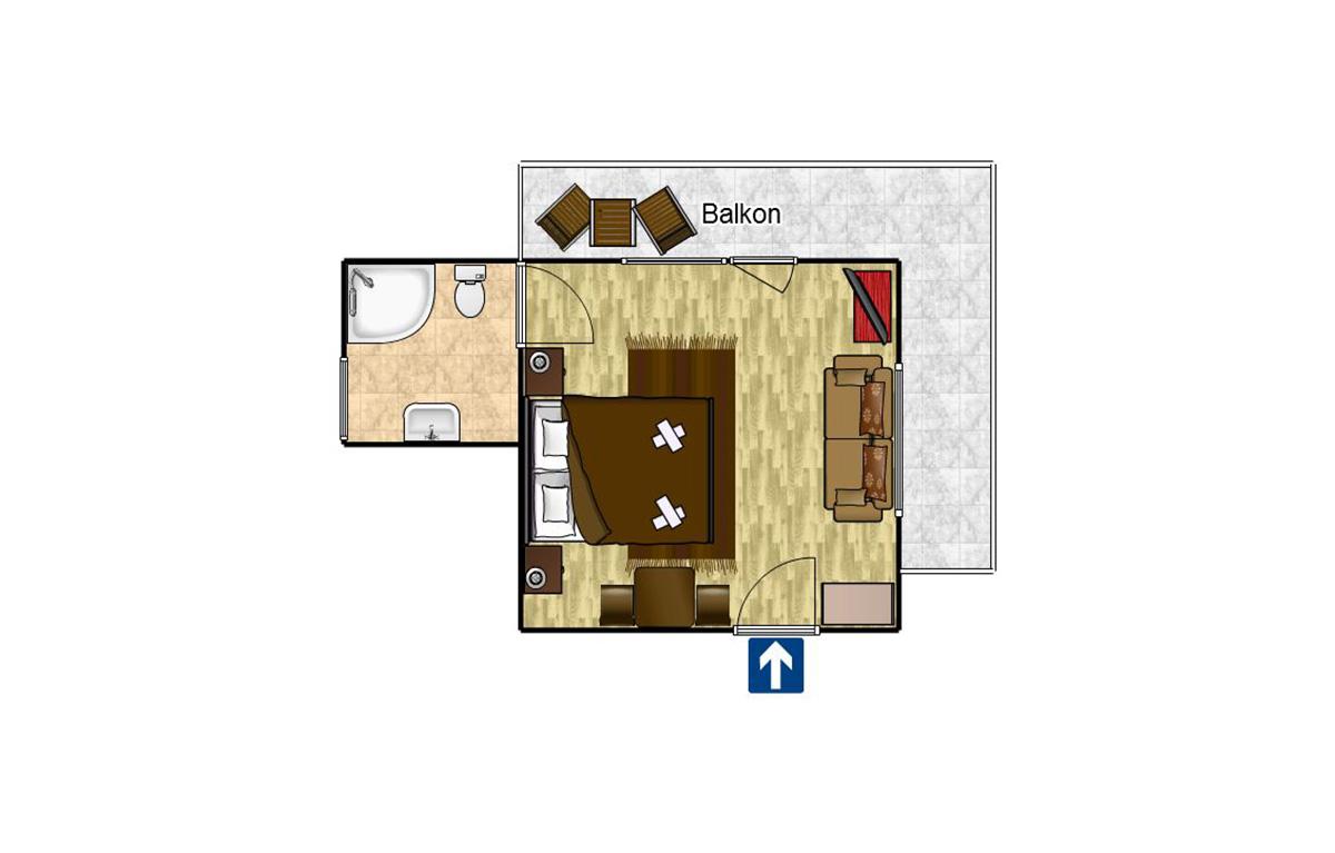 Double room Komfort 17