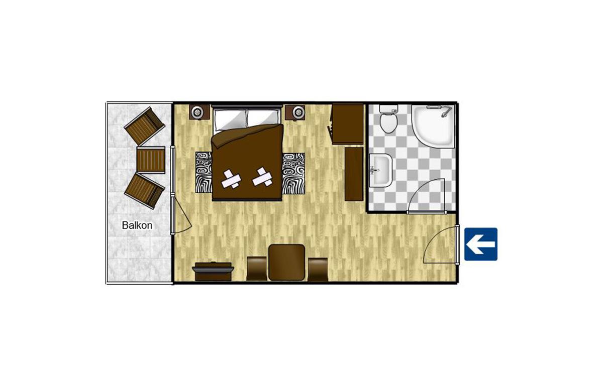 Double room Komfort 18