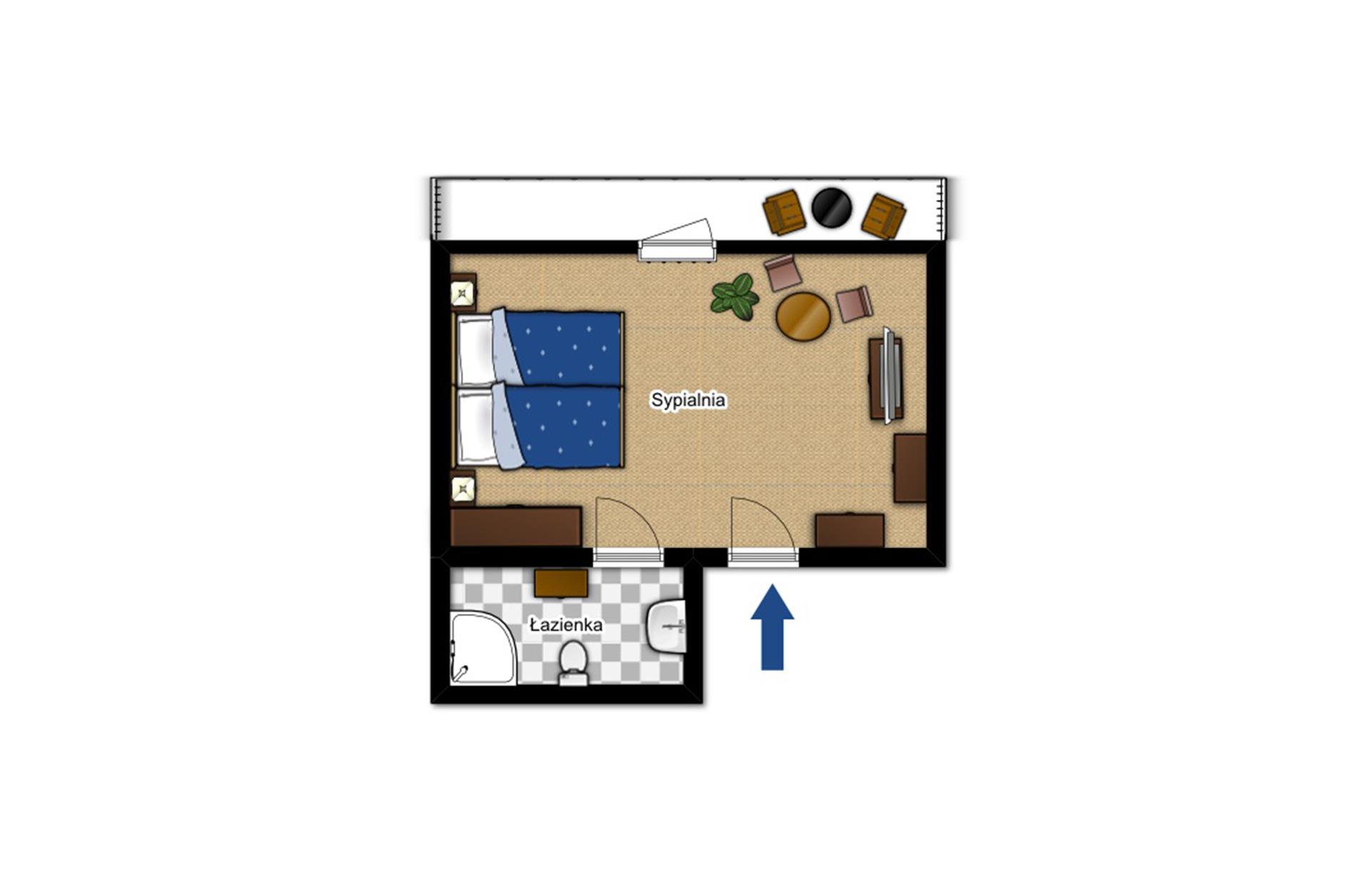Double room Komfort 19
